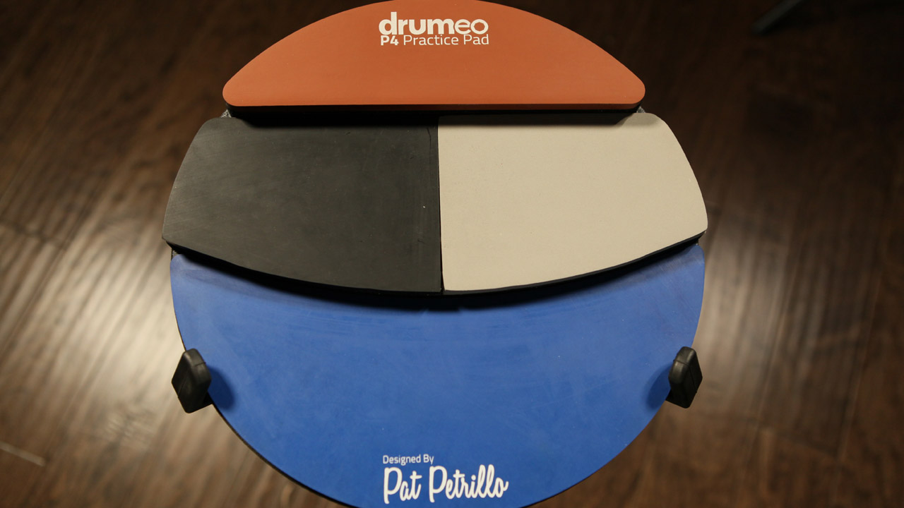 Image result for drumeo p4 practice pad""