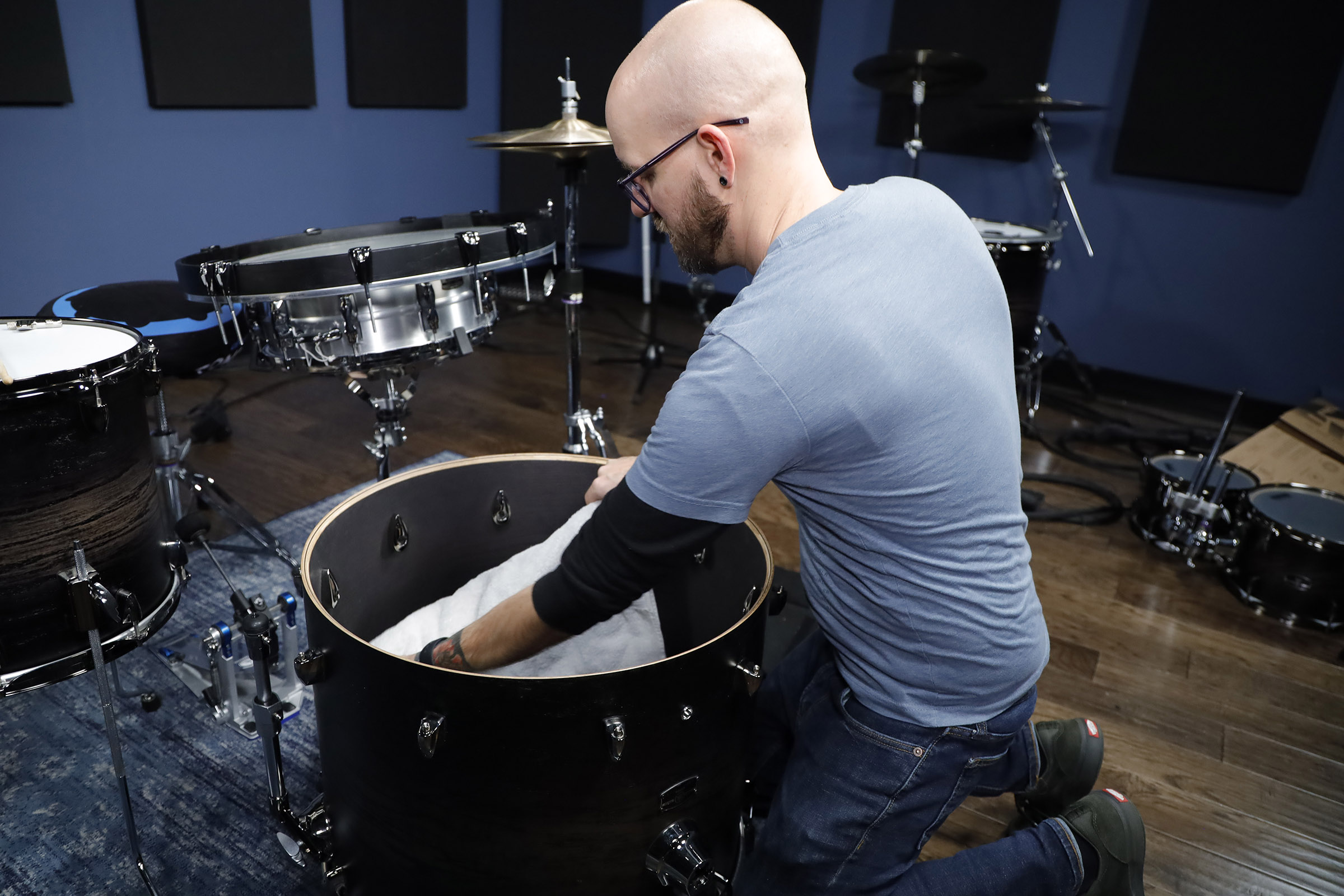 Bass Drum The Standard Five Piece Drum Set Typically Comes