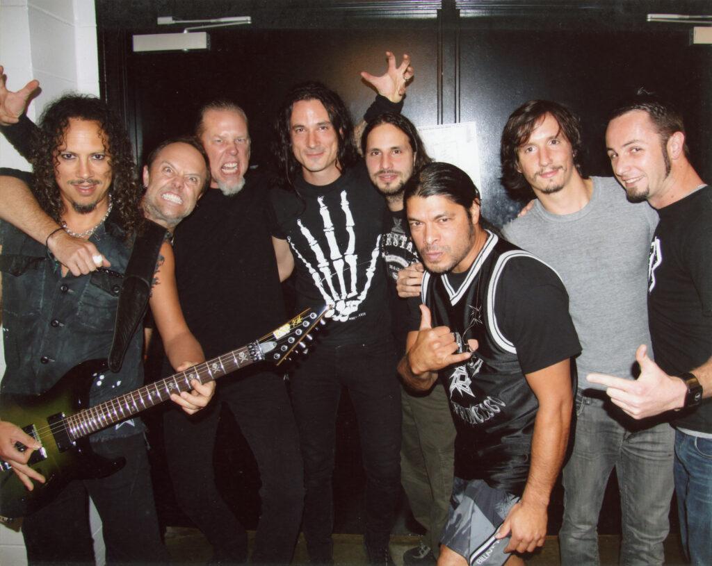 Gojira tour with Metallica