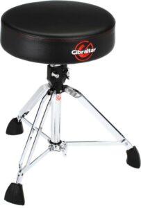 Gibraltar9608 round top drum throne