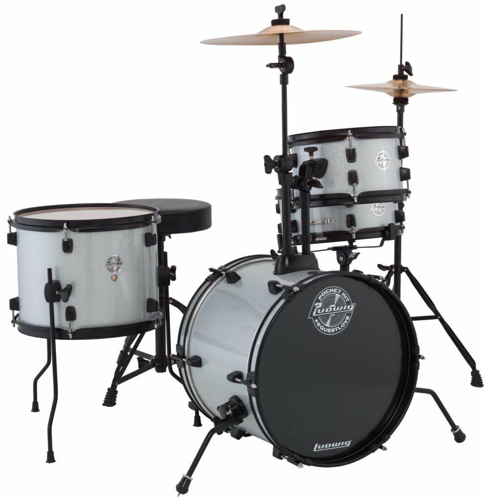 ludwig questlove beginner drum kit