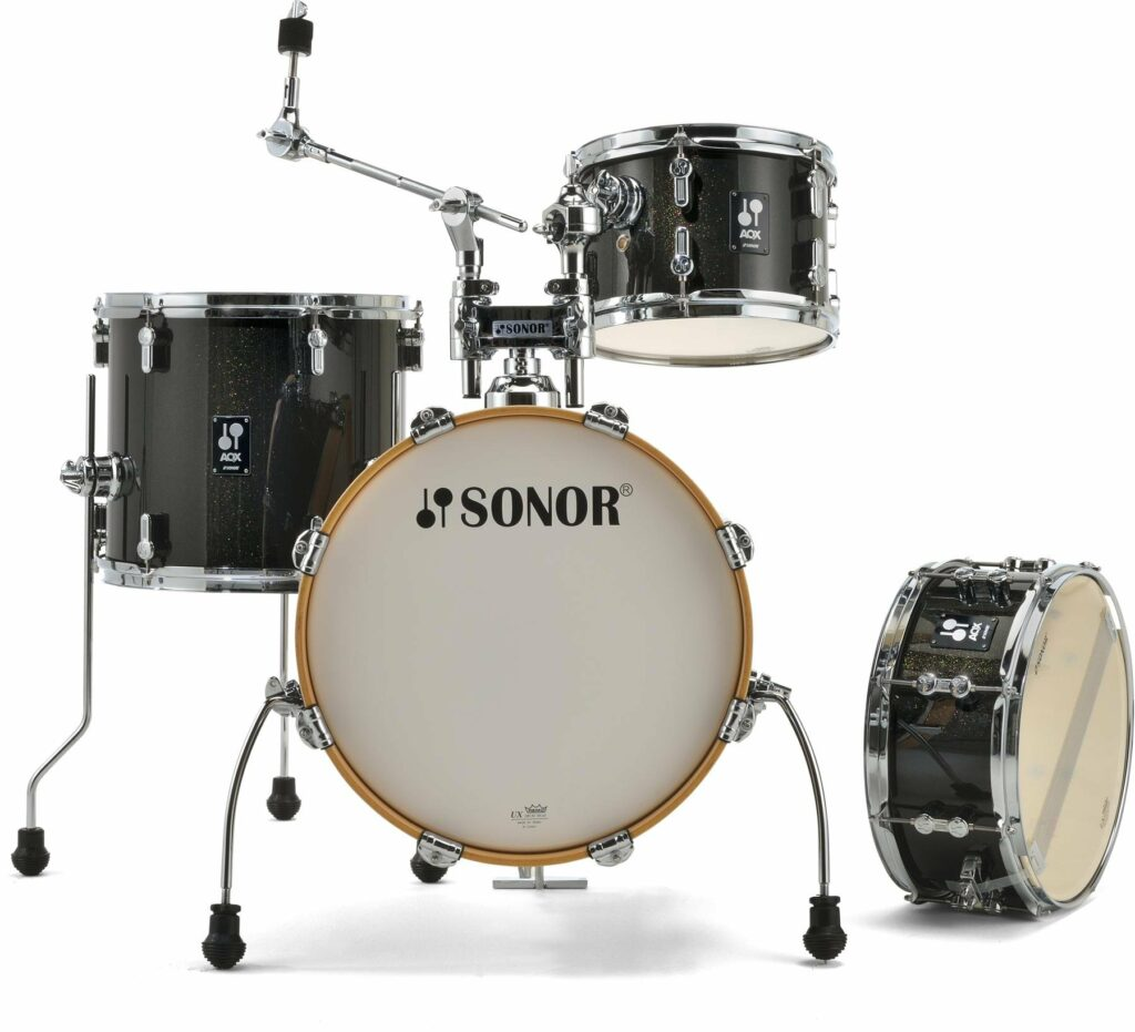 sonor aqx jungle beginner drum set